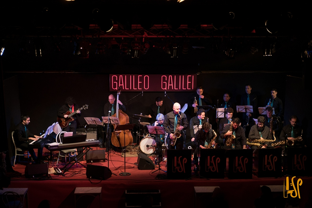 Concierto Big Band Sala Galileo Galilei
